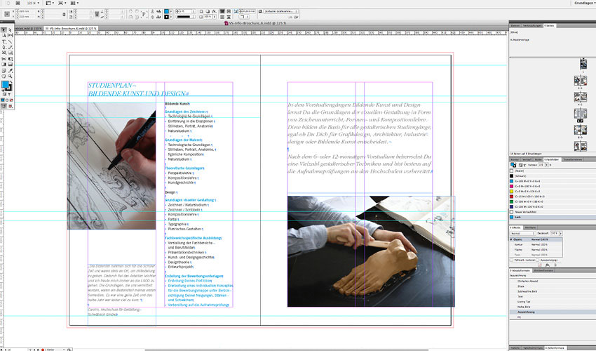 indesign export 2 sided pdf